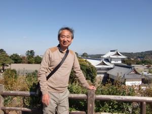 金沢城にて