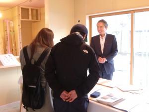 見附市今町にて構造見学会を行いました。
