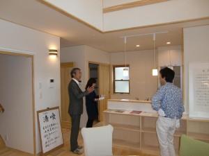 9月23日・24日と長岡市中沢にて完成見学会を行いました。